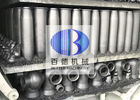 RBSIC / SIC Silicon Carbide Tube Burner Nozzle With Wear Resistance