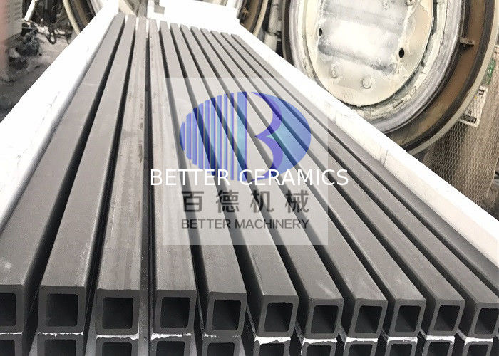 Square Silicon Carbide Rod Pipe In Kiln Furniture For Tunnel Kiln Temperature 1200℃