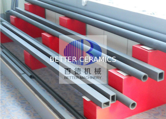 Reaction Bonded Silicon Carbide Material / Cross Rollers For Sanitary Ceramic